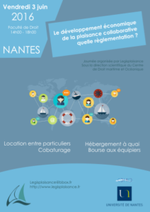 affiche journée plaisance collaborative
