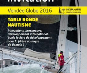 invitation_table ronde nautisme_vendee globe 2016