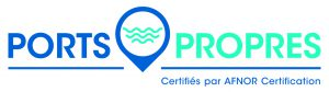 Logo PortsPropres2018 CertifiesAFNOR CMJN